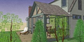 Exterior NO addition Rear Porch 10-2 eaves-3