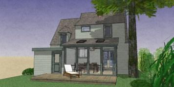 Exterior NO addition Rear Porch 9-8-4