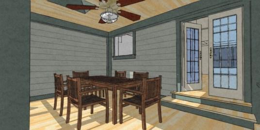 Exterior NO addition Rear Porch 9-8-9