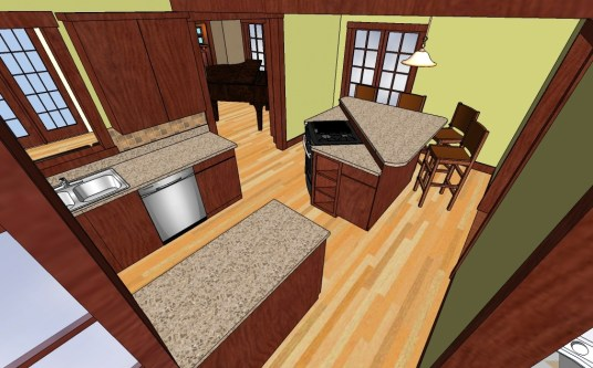 Kerkhof-Derry 1st Floor island kit-19
