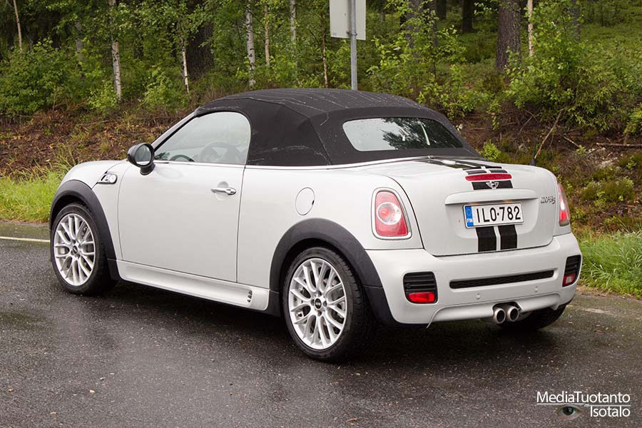 Mini Roadster rear