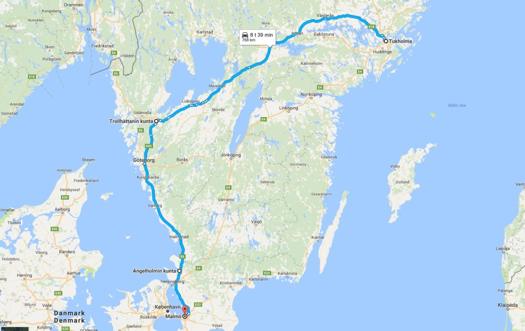 Ruotsin Lapi Ajaminen Scenic Road Hunters