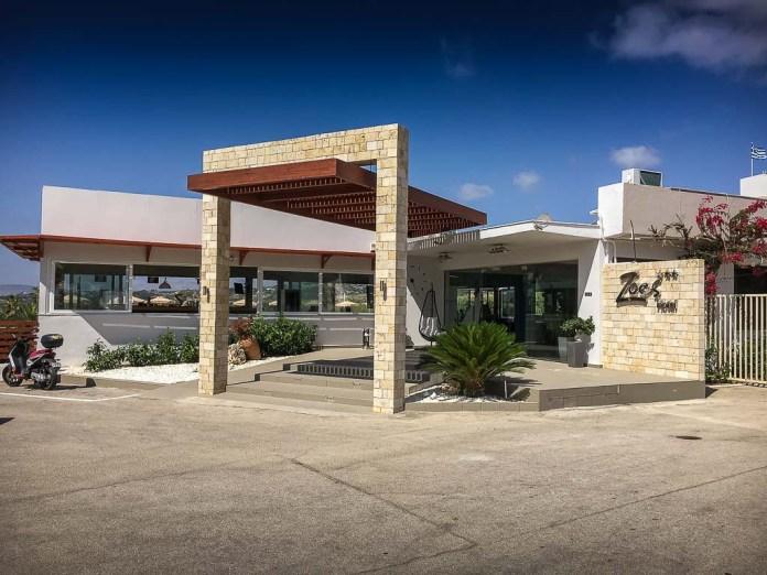 Zoes Hotel Studios – Vieraanvarainen hotelli Rodoksella Falirakin laitamilla