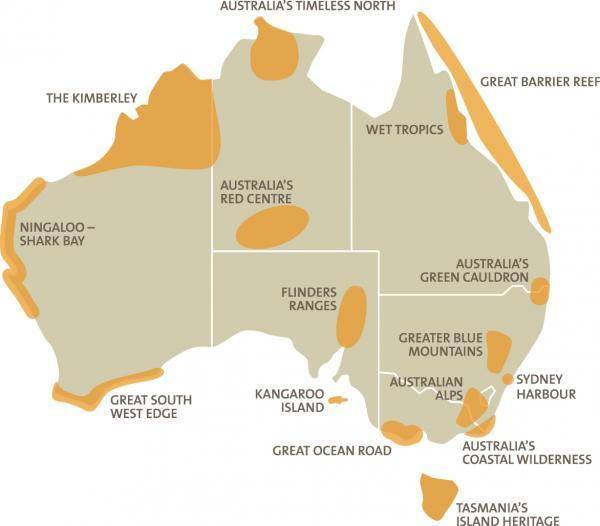 Fig 4 Australian National Landscapes