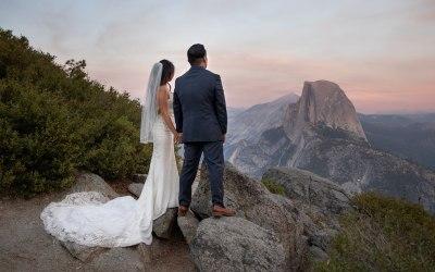 Intimate Wedding in Yosemite – Diana & Justin