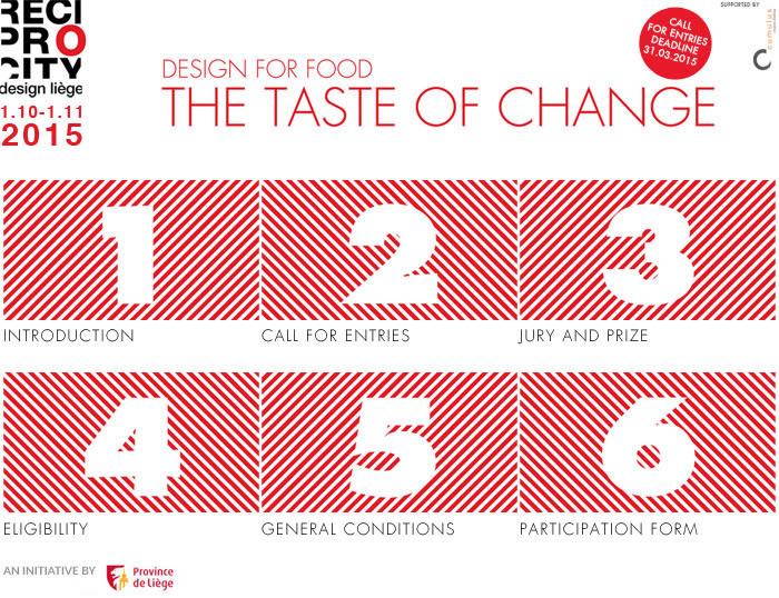 The taste of change
