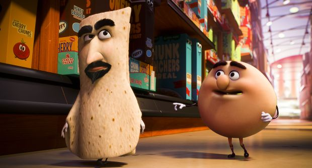 Lavash (David Krumholtz) and Sammy Bagel Jr. (Edward Norton) form an odd team indeed.