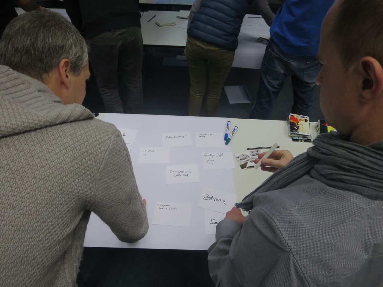 Translating scent in the context of project identity work