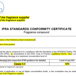 How to cope with IFRA?