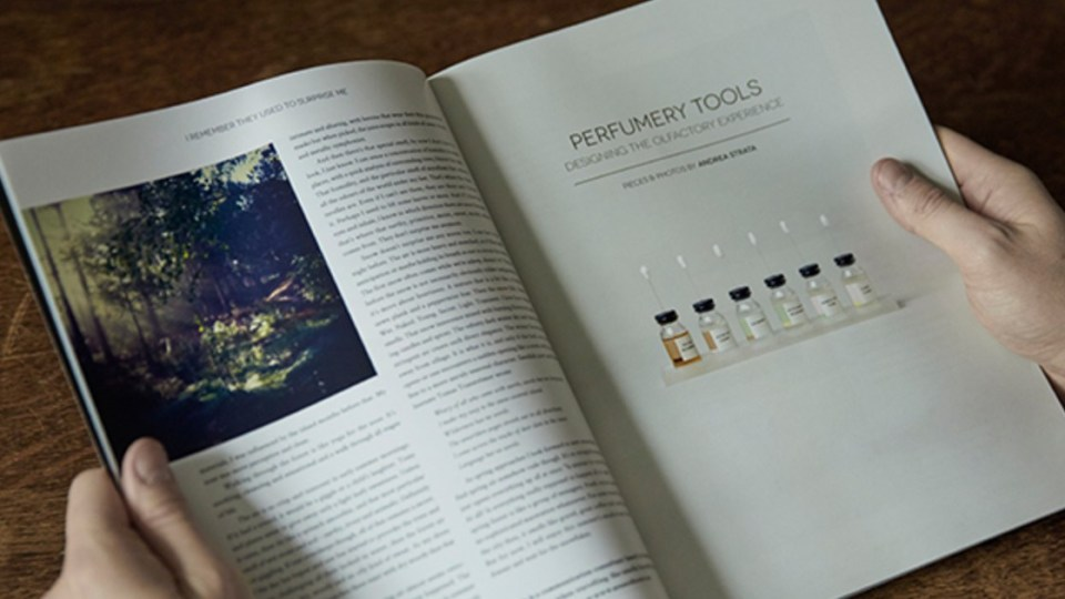 Magazine for perfume culture