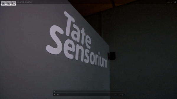 Taste, smell and feel artwork at Tate Sensorium