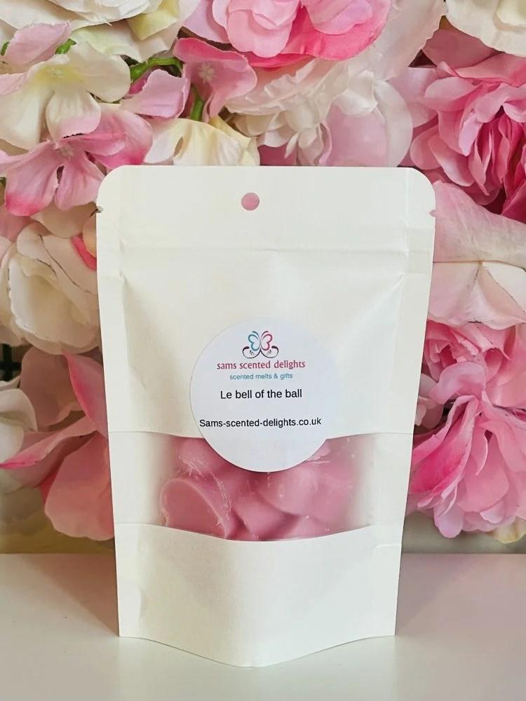 Heart Shaped Wax Melt Refill Bag