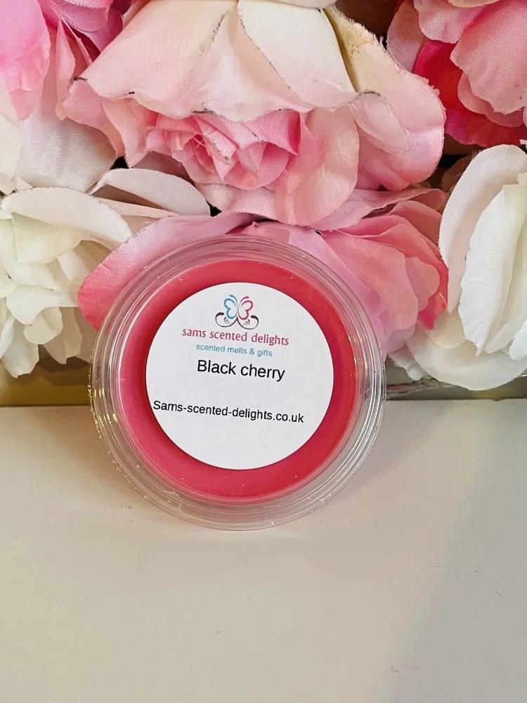 Black Cherry Wax Melt Pot