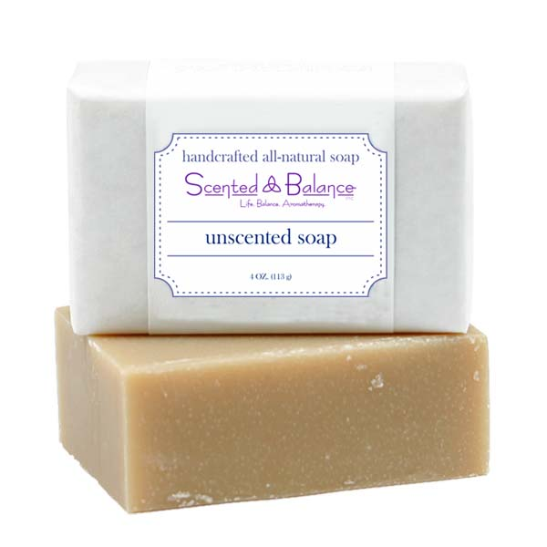 All Natural Unscented Soap for Eczema and Psoriasis, soap for sensitive skin