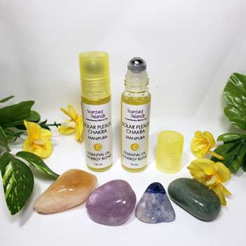 Solar Plexus Aromatherapy Rollerball, third chakra