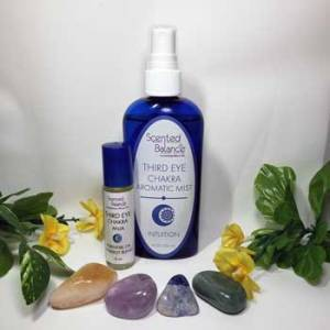 Third Eye Chakra and Your Health, Essential Oils for Third Eye Chakra