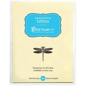 dragonfly temporary tattoo