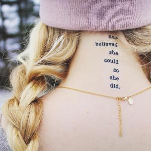 Conscious Ink Temporary Tattoos