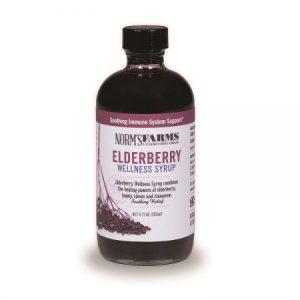 Elderberry Wellness Syrup, Honey, Clove, Cinnamon