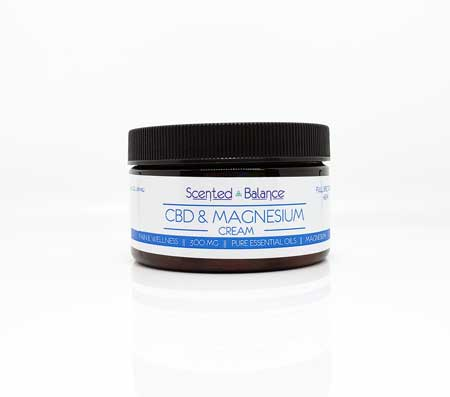 CBD Magnesium Pain Butter, Natural Pain Relief