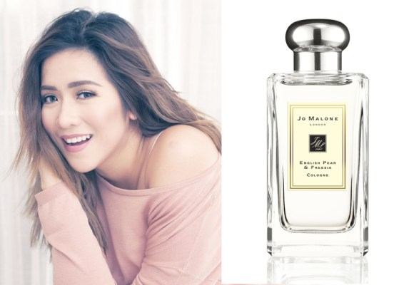Angeline Quinto - Jo Malone English Pear and Freesia