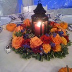Fall Lantern Centerpiece Scentsational Florals