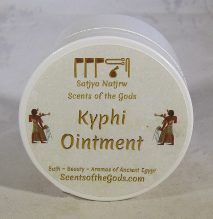Kyphi Ointment Open