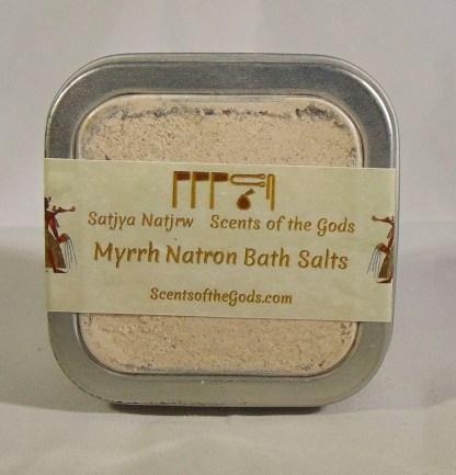 Myrrh Natron Bath Salts 2oz Front