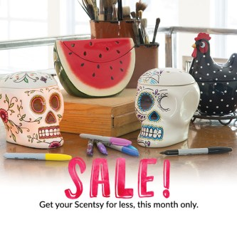scentsy sale august 2016