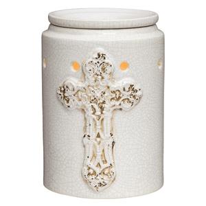 Antique Cross Scentsy Warmer