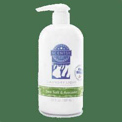 Scentsy Sea Salt Avocado Laundry Liquid