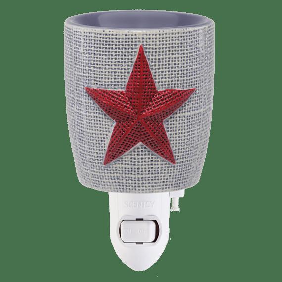 Burlap Star Mini Warmer