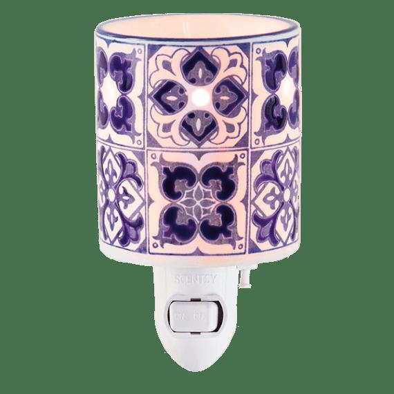 Indigo Tile Mini Warmer