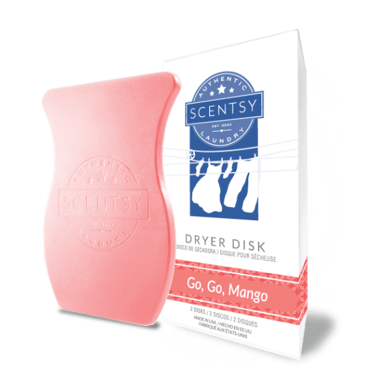 scentsy dryer disks go go mango