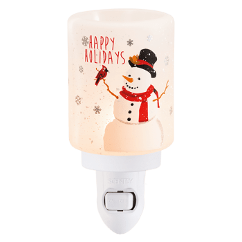 holiday snowman scentsy warmer
