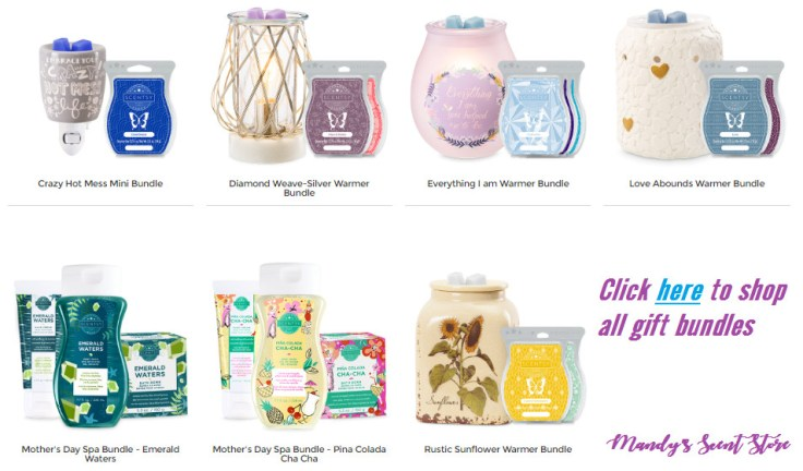 scentsy mothers day gift bundles 2019