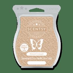almond croissant scentsy wax bar