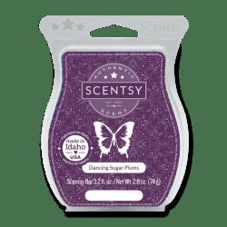 dancing sugar plums scentsy wax bar