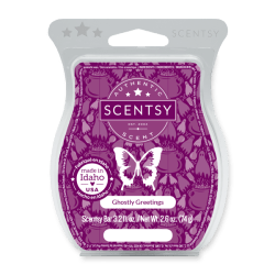 ghostly greetings scentsy wax bar