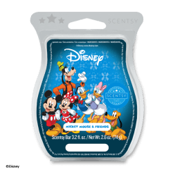 mickey mouse and friends scentsy wax bar