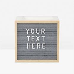 Letterboard Scentsy Wax Warmer
