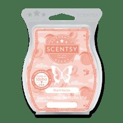 Peach Nectar Scentsy Wax Bar