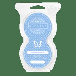 newborn nursery scentsy pod