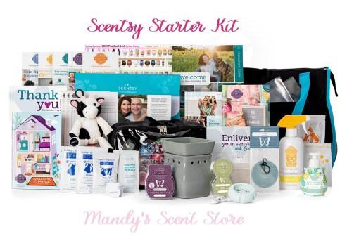 scentsy starter kit spring summer 2021