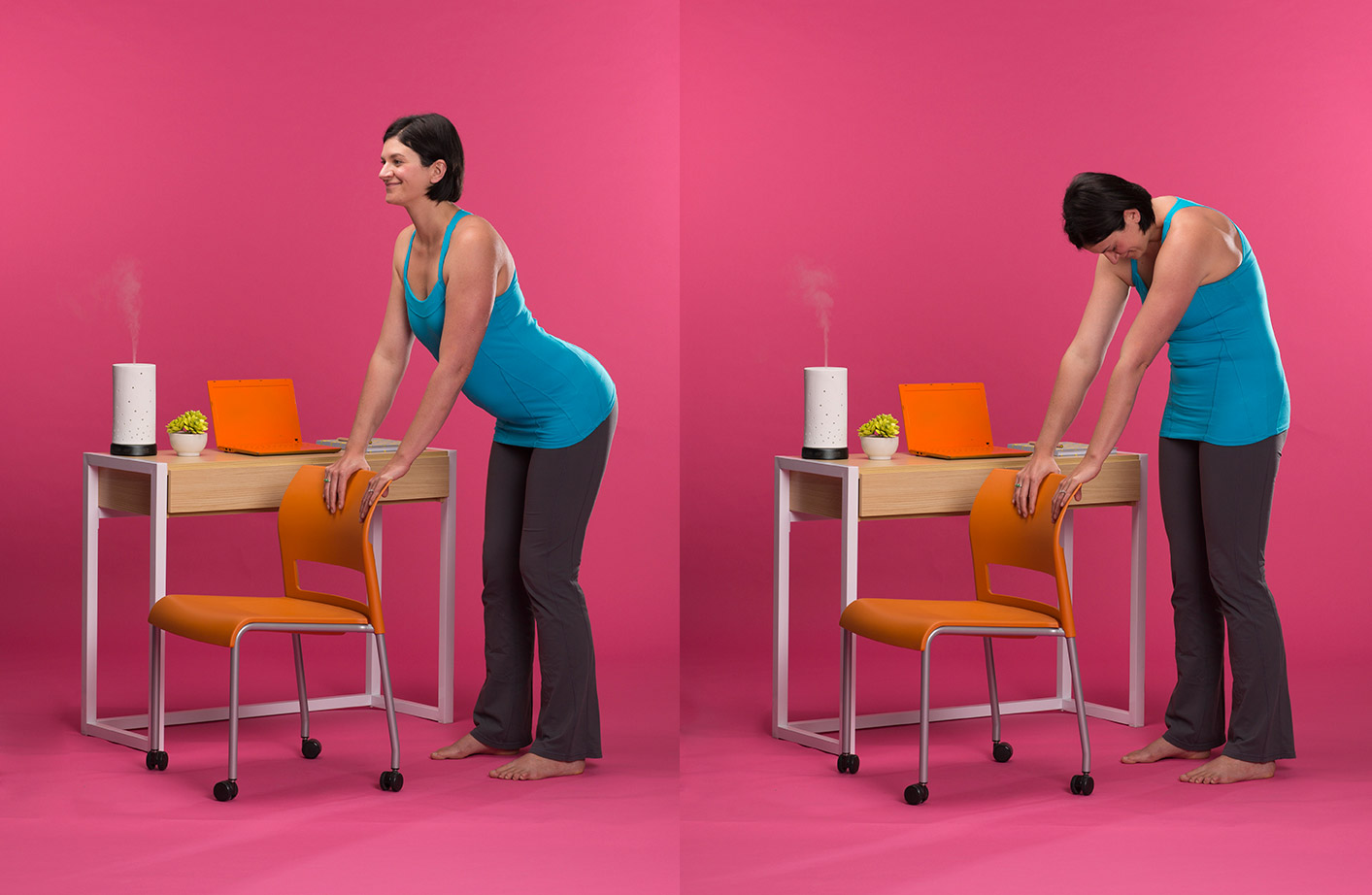 Yoga Poses You Can Do At Your Desk  Scentsy Blog