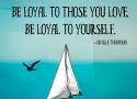 Orville Thompson - Loyalty