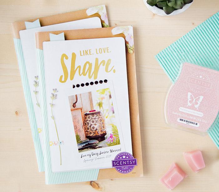 foto de Like Love Share the 2017 Spring & Summer Scentsy Catalog