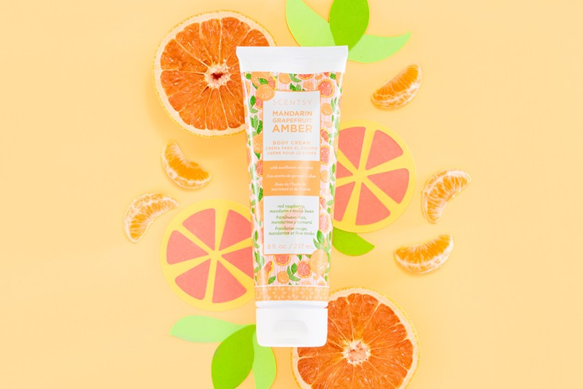 Photo of Scenty's Mandarin Grapefruit body cream