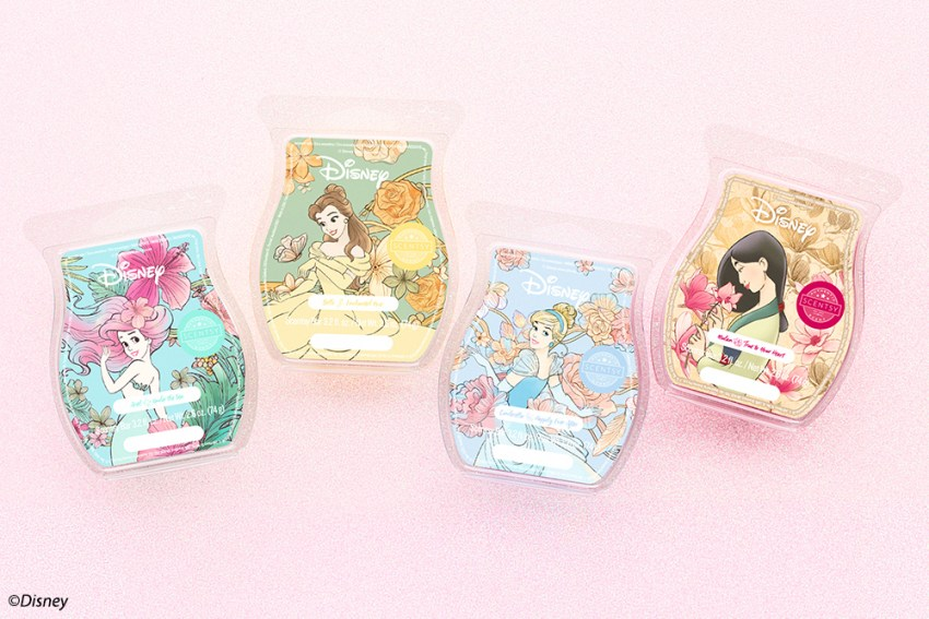 Photo of Scentsy Disney Princess Wax Collection
