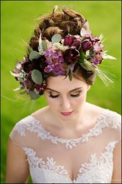 Bride Hair Flowers